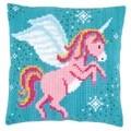Vervaco Unicorn Cushion Cross Stitch Kit