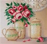 VDV Roses and Porcelain Embroidery Kit