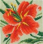 VDV Lily Floral Embroidery Kit