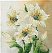 VDV Lilies Floral Embroidery Kit