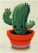VDV Green Friend Floral Embroidery Kit