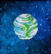 VDV Earth Embroidery Kit