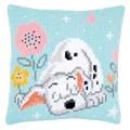 Vervaco Dalmatian Cushion Cross Stitch Kit