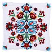 Vervaco Folklore Cushion II Floral Tapestry Kit