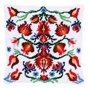 Vervaco Folklore Cushion IV Floral Tapestry Kit