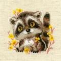 RIOLIS Little Racoon Cross Stitch Kit