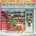 Dimensions Coffee Shope Christmas Cross Stitch Kit