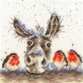 Bothy Threads Christmas Donkey Cross Stitch Kit