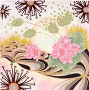 VDV Mystery of the Desert Floral Embroidery Kit