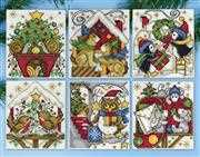 Design Works Crafts Home for Christmas Ornaments Cross Stitch Kit