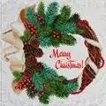 VDV Merry Christmas Embroidery Kit