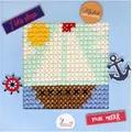 Luca-S The Boat Cross Stitch Kit