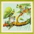 RIOLIS Tree Frogs Cross Stitch Kit