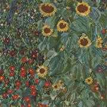 DMC Farm Garden with Sunflowers Cross Stitch Kit