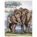Anchor Elephants Cross Stitch Kit