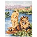 Anchor Lions Cross Stitch Kit