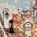 RIOLIS City and Cats Winter Craft Kit