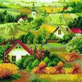RIOLIS Serbian Landscape Craft Kit