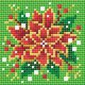 RIOLIS Poinsettia Christmas Craft Kit