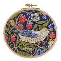 DMC The Strawberry Thief Floral Cross Stitch Kit