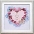 VDV Wedding Heart Wedding Sampler Embroidery Kit