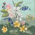Derwentwater Designs Seasons - Spring Floral Long Stitch Kit