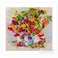 Merejka Autumn Star Floral Cross Stitch Kit