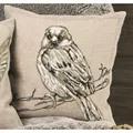 Permin Sparrow Cushion Cross Stitch Kit