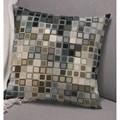 Permin Pixel Cushion - Blue Cross Stitch Kit