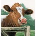 Lanarte Wondering Cow - Evenweave Cross Stitch Kit