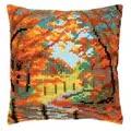 Vervaco Autumn Landscape Cushion Cross Stitch Kit
