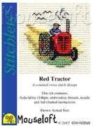 Mouseloft Red Tractor Cross Stitch Kit