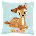 Vervaco Bambi Cushion Cross Stitch Kit