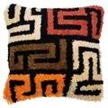 Vervaco Boho Kuba Cloth Cushion with Back Latch Hook Kit