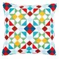 Vervaco Rhombuses Cushion Long Stitch Kit