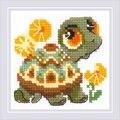 RIOLIS Little Turtle Cross Stitch Kit