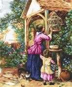 Luca-S The Bird Cage - Petit Point Kit Tapestry