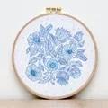 VDV Flower Floral Embroidery Kit