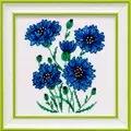VDV Cornflowers Floral Cross Stitch Kit