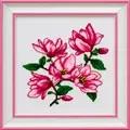 VDV Magnolias Floral Cross Stitch Kit