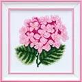 VDV Hydrangea Floral Cross Stitch Kit