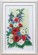 VDV Bouquet of Wild Flowers Embroidery Kit