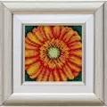 VDV Orange Bloom Floral Embroidery Kit