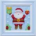 VDV Father Christmas Embroidery Kit