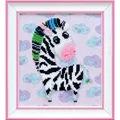 VDV Zebra Embroidery Kit
