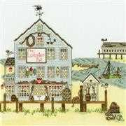 Bothy Threads New England: The Lobster Pot Cross Stitch Kit
