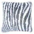Vervaco Zebra Latch Hook Cushion Latch Hook Kit