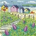 Heritage Sea Holly Shore - Aida Cross Stitch Kit