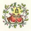 Heritage Christmas Robins - Evenweave Cross Stitch Kit