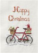 Derwentwater Designs Christmas Delivery Card Making Cross Stitch Kit